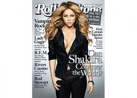Shakira na Rolling Stone